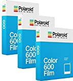 Polaroid Originals 600color film tripla confezione (24bicchierini)