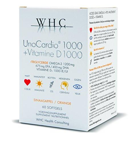 WHC UnoCardio 1000 60 capsules
