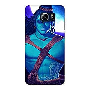 Warior Shiva Blue Back Case Cover for Galaxy Note 5