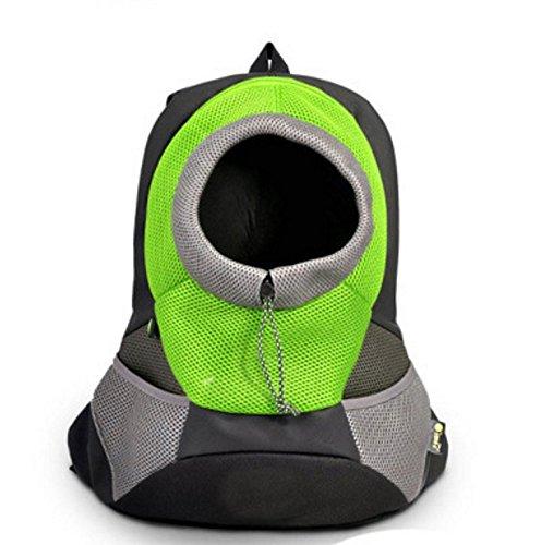 Bigwing style zaino per cane borsa trasportino di cintura regolabile e gancio per il collare comoda bella e molto pratica per cane gatto
