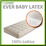 Ever Baby Latex Materasso Lattice per bambini...