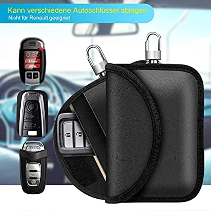 Keyless-Go-Schutz-Autoschlssel-RFID-Auto-Funkschlssel-Schlsseltasche-Schlsseletui-Faraday-Bag-Schlsseltasche-Abschirmung-Keyless-Blocking-Auto-Blocker-fr-keyless-Schutzhlle-Car-Key-Safe