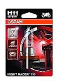 Osram 64211NR1-01B Night Racer 110 Lampada Alogena H11 per Moto