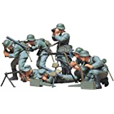 Tamiya 300035038 - 1:35 WWII Figuren-Set Deutsche MG Truppen (7)