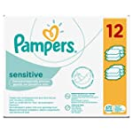Pampers Sensitive Baby Wipes, 672 Wipes