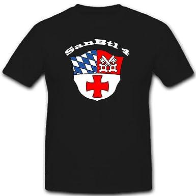SanBtl 4 Deutschland Sanitäter Bundeswehr Militär Wappen Abzeichen ...   {Sanitäter bundeswehr 93}