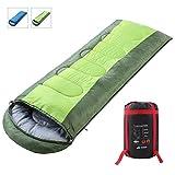 SEMOO Schlafsack 200x70cm, Warm Leichte Deckenschlafsack, Sommerschlafsack, Für Outdoor Camping Wandern