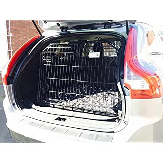 Arrow VOLVO XC60 ESTATE SLOPED 4x4 CAR DOG CAGE TRAVEL CRATE PUPPY BOOT GUARD CAGES