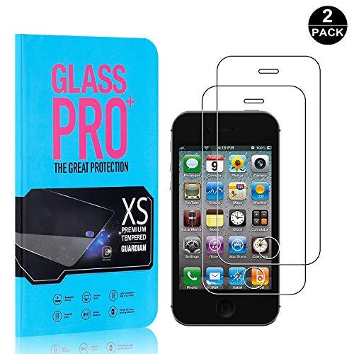 Bear Village® iPhone 4 / 4S Displayschutzfolie, 9H Härtegrad Displayschutz, 99{0ff08a32060b5a96d5b26e6afba4a4bc2f479396081a1ae6fa399acbc416155b} Transparente, 3D Touch Schutzfilm aus Gehärtetem Glas für Apple iPhone 4 / 4S - 2 Stück