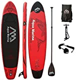 AQUA MARINA, MONSTER+CARBON-Paddle+LEASH, Paddle Board, SUP, 330x75x15 cm