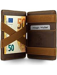 West - Magic Wallet - Das ORIGINAL - Geldbeutel mit Münzfach - inklusive Edler Geschenkbox - Der perfekte Begleiter für unterwegs - RFID Datenschutz