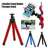 #6: Lifestyle-You Adjustable Flexible Mini Portable Tripod Stand with Universal Smartphone Clip Holder (Black)
