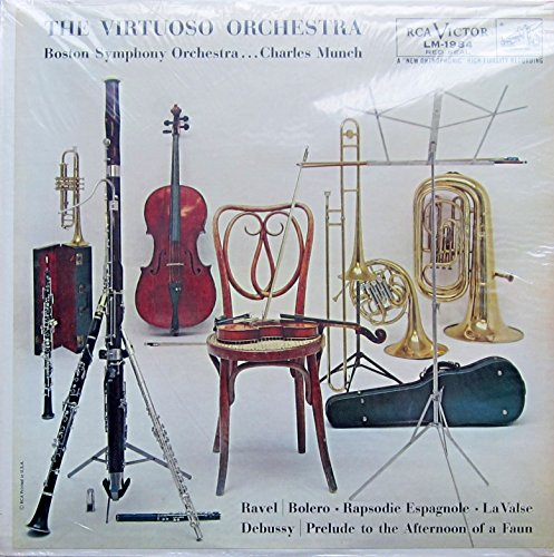 The Virtuoso Orchestra (BOLERO and other selections) [Vinyl LP] [Schallplatte]