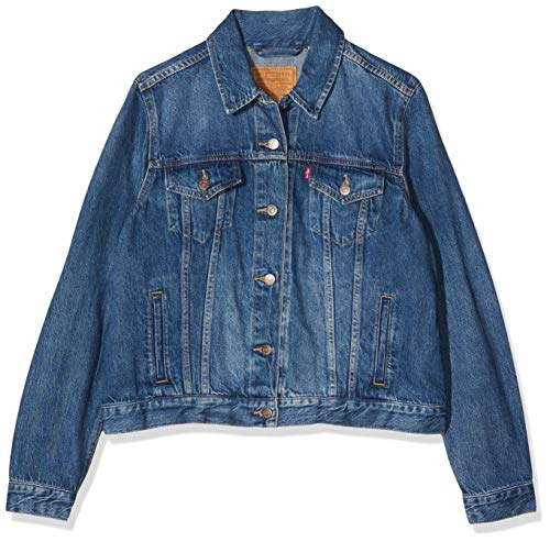 Levi's the perfect tee' giacca, grigio (sportswear logo smokestack htr 0303), xl donna