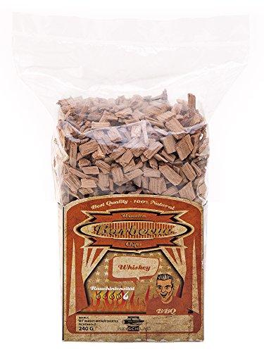 Axtschlag Räucherchips, Wood Smoking Chips Whisky Eiche, 240 g