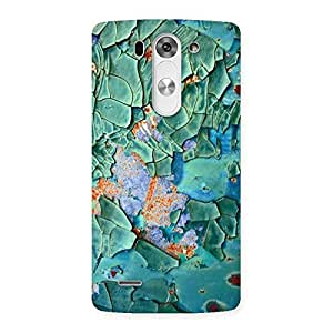 Green Ripped print Back Case Cover for LG G3 Beat