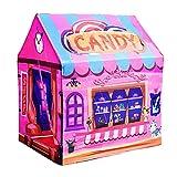 PRNGZGG Zelt Tipi Kinderzelt Spielzelt Für Innen Kinderspielhaus Spielzeug Haus Indoor Baby Zelt Spielzeug Mädchen Prinzessin Zimmer Junge Kleine Zelt Nach Hause,Pink