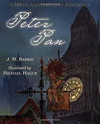 Peter Pan (100th Anniversary Edition) by Barrie, J. M. (2003) Hardcover