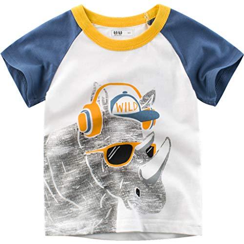 Julhold Kleinkind Kinder Baby Jungen Niedlich Freizeit Brief Drucken T Shirt Tops Base Shirt Kleidung 2019 Neu 1-6 Jahre