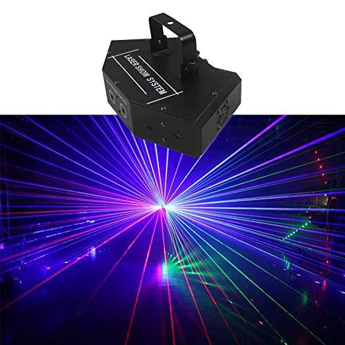 Disco Lichter DMX512 RGB LED DJ Derby Bühne Party Licht Sound Aktiviert Farbe Bühnenbeleuchtung Mit Fernbedienung for Tanzen Weihnachtsgeschenk Thanksgiving KTV Bar Club Gesang Konzert Geburtstag -715 -