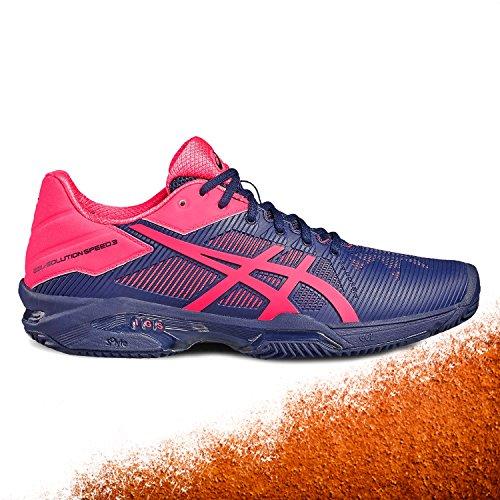 10 Donna Da Tennis Rosa Challenger Blu Scarpe Gel Asics PXw5vq