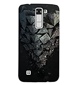 EagleHawk Designer 3D Printed Back Cover for LG K7 - D758 :: Perfect Fit Designer Hard Case