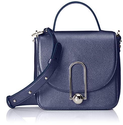 HUGO Damen Uptown S T. Handle-l Baguette, Blau (Open Blue), 9x19x20 cm