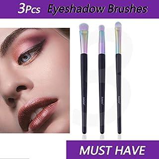 Anmyox Makeup Brushes Premium Synthetic Kabuki Blending Nose Contouring Eyeshadow Brushes, Makeup Brush Tool Kit (3 pcs)
