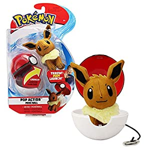 Bandai - Pokémon - Poké Ball & su Peluche Evoli - 81241