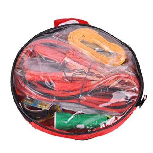 BOHENG 8-Teiliges Set Auto Notfall Kit Auto Verbandskasten Auto Geschenk Oxford Tuch 8PCS Werkzeugset Autozubehör
