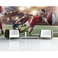 Carta da parati adesiva Rugby In Motion, Dimensione:270cm x 72cm