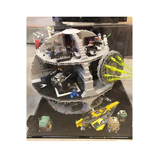 DXX Acrilico Vetrina Acrylic Display Case Scatola di Acrilico Trasparente per Lego 75159 - Star Wars Morte Nera (Nessun… 4 spesavip