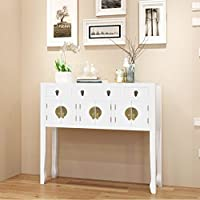 lingjiushopping sideboard chinese style solid wood white material solid wood dimensions 95 x 24