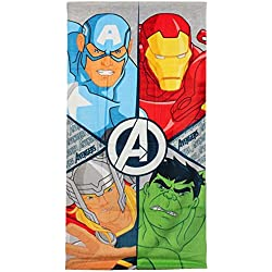 Avengers 2200001261 - Toalla de playa, multicolor