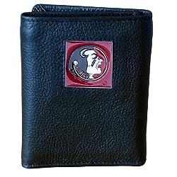 Florida St. Seminoles Genuine Leather Tri-fold Wallet