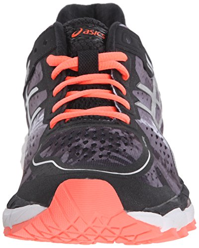 Asics Gel-Kayano 22 Maschenweite Laufschuh Black/Flash Coral/White