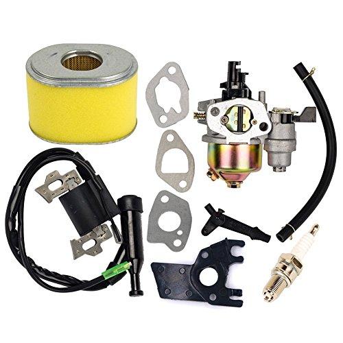 OuyFilters Ersatz-Vergaser mit Zündspule und Luftfilter für Honda Gx160, Gx200, 5,5 PS und 6 PS, Motor-Generator, Rasenmäher-Motor.