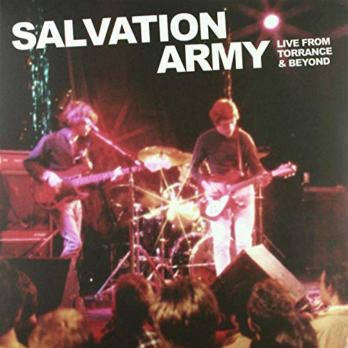 SALVATION ARMY, THE - RSD 2019 - LIVE FROM TORRANCE AND BEYOND (1 LP)