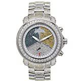 Joe Rodeo Diamond Men's Watch - JUNIOR silver 17.25 ctw