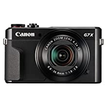 Canon Powershot G7 X Mark II Digital Camera Camera - Vlogging Camera, with Full HD 60p movies and tilt touch screen, ideal for vloggers and YouTube content creators