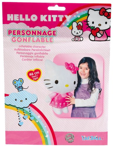 WDK Partner - a1100247 - Natursport - Charakter aufblasbar Hello Kitty (Hello Kitty Mann Kostüm)