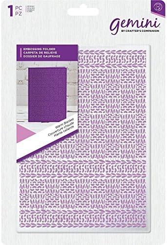 Gemini Crafter's companion companion companion 12,7 x 17,8 cm carte gaufrage – Couverture chaude B07DB9FDD7 9fc25b