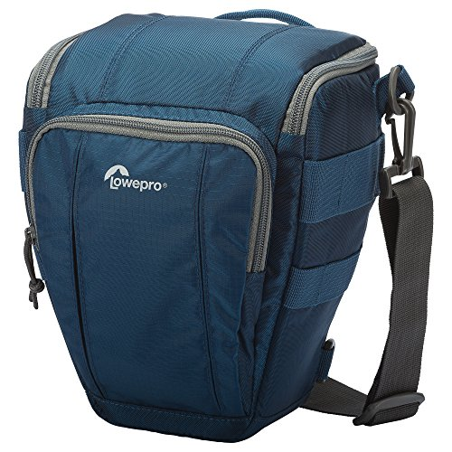 Lowepro Toploader Zoom AW II Kameratasche für DSLR und Objektiv, 50 AW, Galaxy Blue, One Size Lowepro Chest Harness