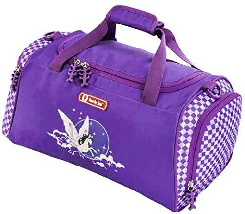 Preisvergleich Produktbild Step by Step Sporttasche Pegasus Purple mit Naßfach
