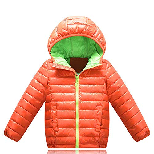 Children Kids Boys Girls Long Sleeved Hooded Keep Warm Wadded Jacket Clothes
