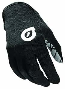 Sixsixone Rev Unisex Full Finger Glove - Black, X-Large