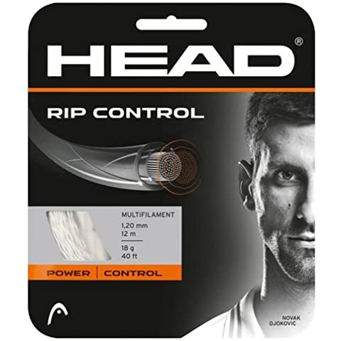 Head PIR controllo, Set di corde, 1,3 mm, colore: nero - 16 Tennis String Set