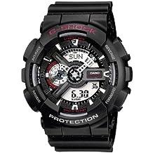 Casio G-Shock – Reloj Hombre Analógico/Digital con Correa de Resina – GA-110-1AER