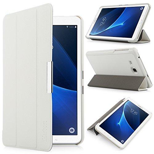 iHarbort® Samsung Galaxy Tab A 7.0 Hülle - Ultra Slim Leder Tasche Hülle Etui Schutzhülle Für Samsung Galaxy Tab A 7.0 Zoll T280 T285 Case Cover Holder,(Galaxy Tab A 7.0, Weiß)