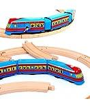 Best Schylling train Jouets - Jouet mécanique train express 2 wagons bleu réédition Review